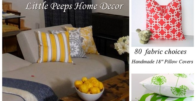 Pillow Covers – Over 80 Fabric Choices!