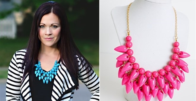 Aztec Drop Necklace Clearance - 5 Colors