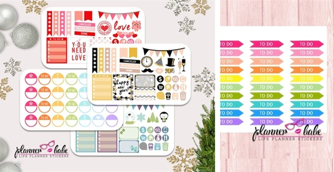 Planner Stickers | Jane