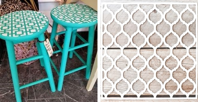 DIY Painting Stencils