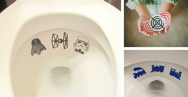 Potty Training Toilet Targets