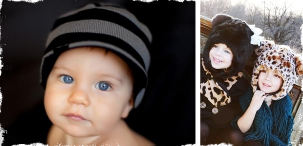 "Darling ""Born to Love"" Brimmed Beanies and Hats - 13 Adorable Options!"