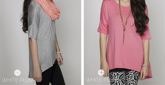 Bella Hi-Lo Tunic! S-XL Sizing Available! 13 Color Options!