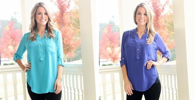 Perfect Tunic Top- It's back in 10 Colors!!