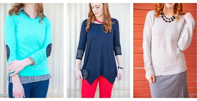 Trendy Tops Blowout | 3 Styles