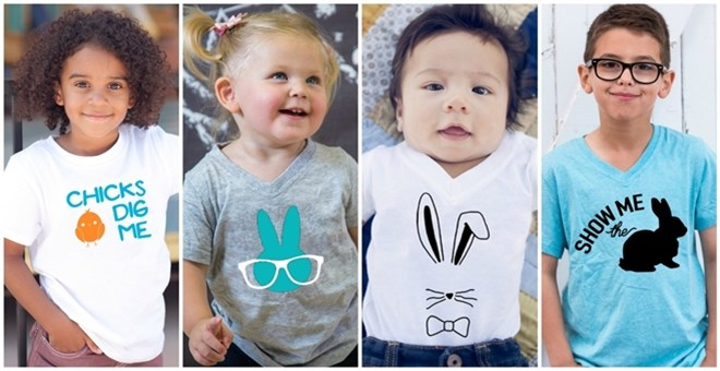 Easter Shirts & Bodysuits | 8 Designs