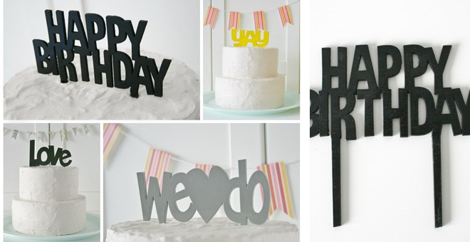 Must Have Cake Toppers