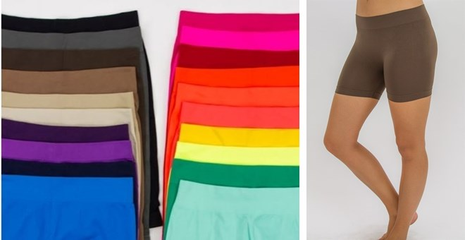Seamless Slip Shorts – Now in PLUS SIZES!