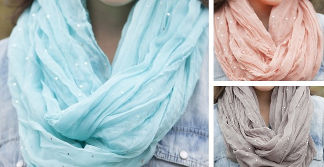 Rise and Shine Infinity Scarf! 5 Color Options!