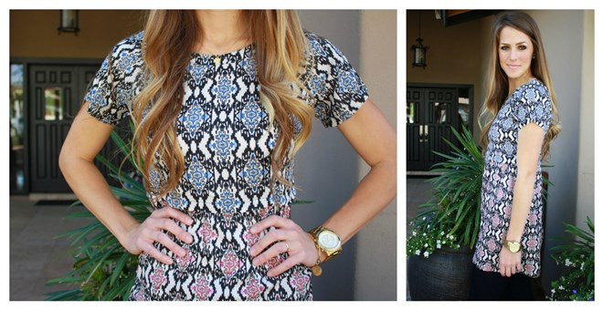 3brunettes Printed Summer Dress!