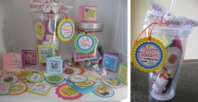"Adorable ""SWEET THOUGHTS"" - Choose from General or for kids!  Great Teachers gift! - some personalized!!"