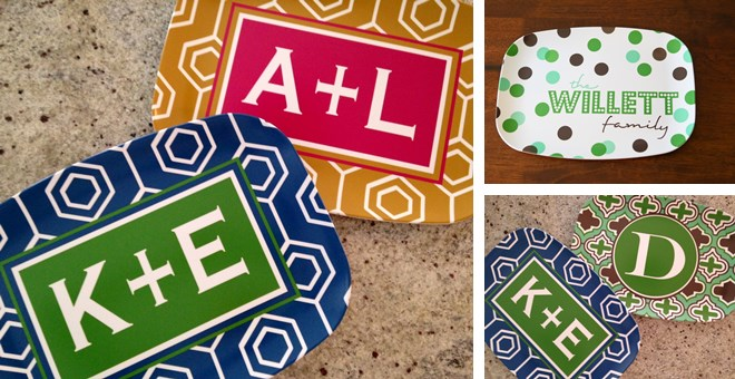 Personalized Platters! 50 designs to choose from