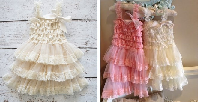 Ruffle Petticoat Dress