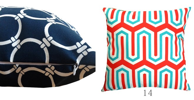 Stain Resistant Indoor/ Outdoor Pillow Covers