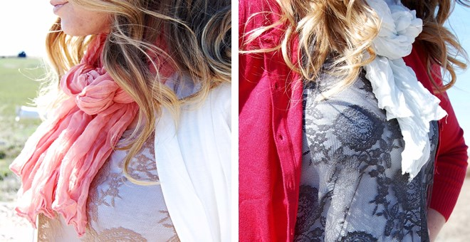 Lightweight Beach Scarves in 6 Colors!!!