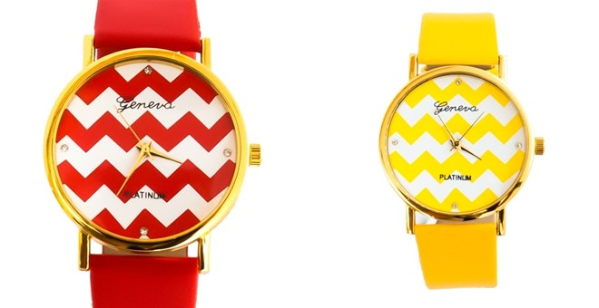 Highway 91's Chevron Watches