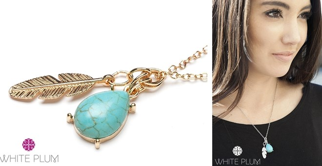 Into the West Necklace! 2 Colors Available!
