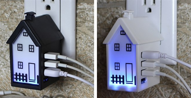 Usb Home Charger 4 Port Night Lamp Jane