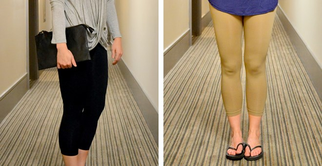 Seamless Capri Leggings - Now With Plus Sizes!