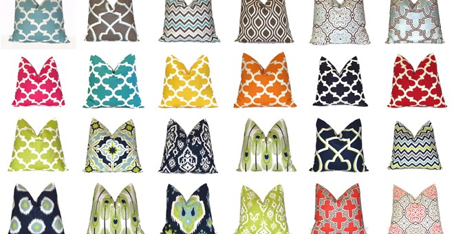 Handmade Modern Pillow Covers : Handmade Modern Pillow Covers ? NEW SPRING COLLECTION! Jane