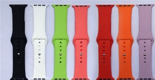 Multicolor Silicone Bands iWatch | 15 Colors | Jane