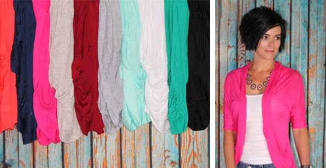 Open Draped Summer Cardigan | 15 Colors!