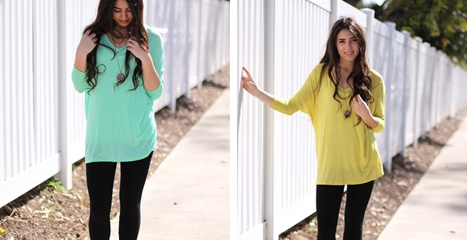 Luxe V-Neck Tunic