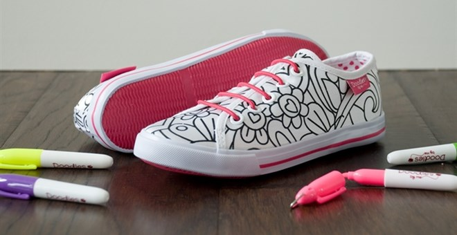 Doodles By Me Shoes