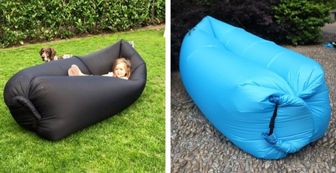 Air Sleep Camping Bed Lounger | Inflatable