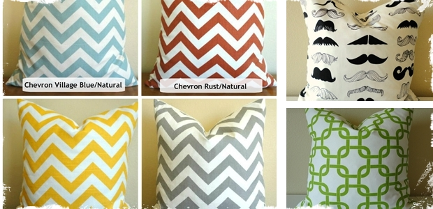 18 x 18 Pillow Covers – 28 Choices!