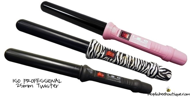 ISO Professional Twister 25mm Curling Iron | Jane