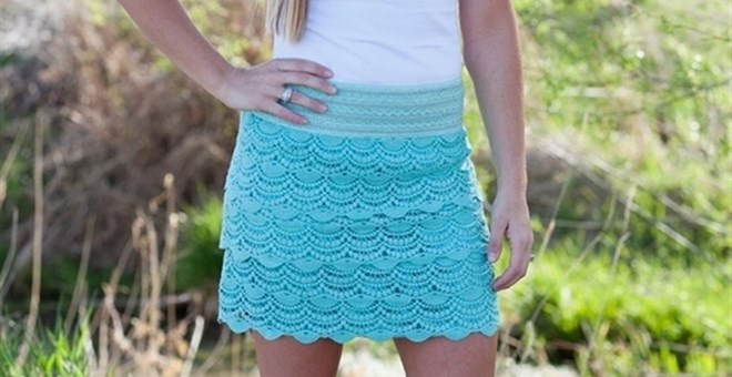 Lace Skirt!