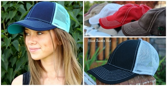 Summer Trucker and Beach Hats