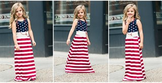 Womens 4th of July Maxi Dress Just 3499 Was 5999