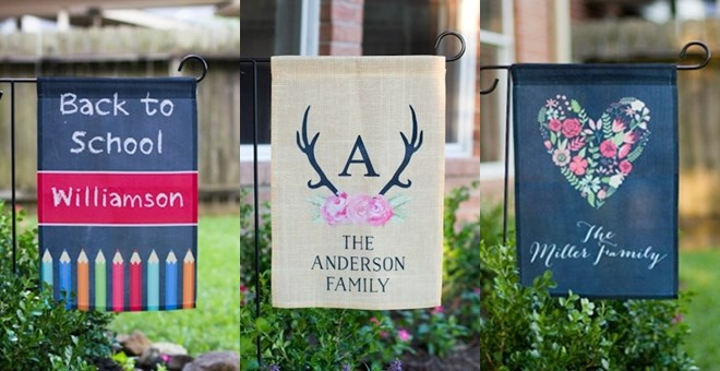 Personalized Garden Flags Jane