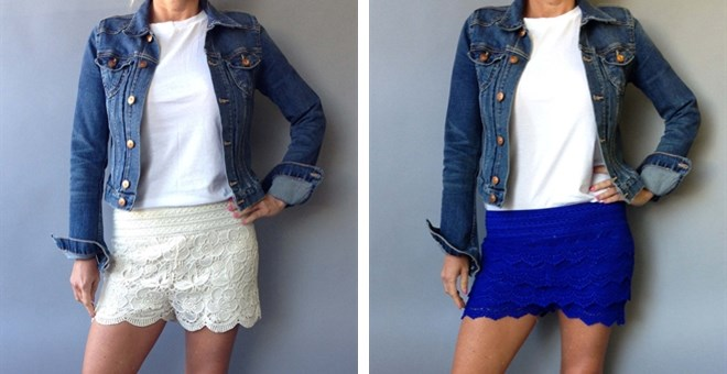 Best Selling Lace Shorts in 2 Styles