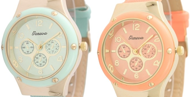 Designer Inspired Studded Watches