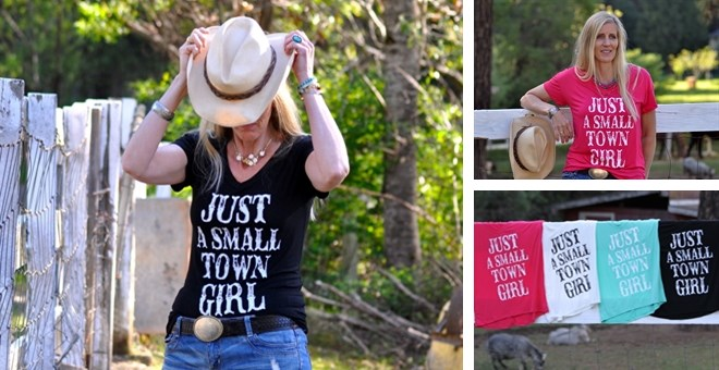 Adorable Small Town Girl TEE