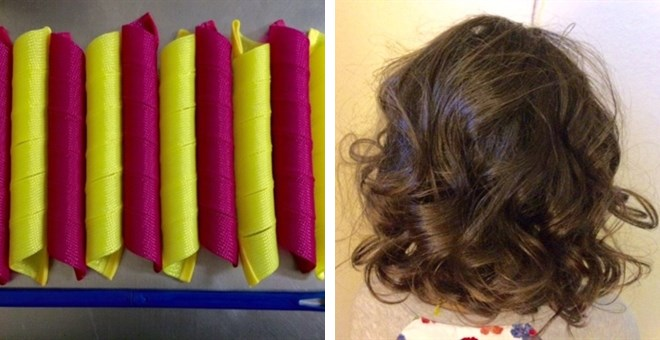 "1"" Extra Long Spiral Curlers"