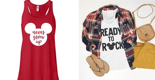 Character Inspired Ladies Tanks | New Designs!
