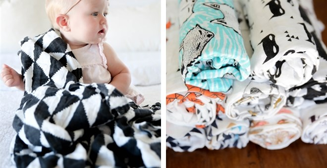Over-Sized Muslin Blankets