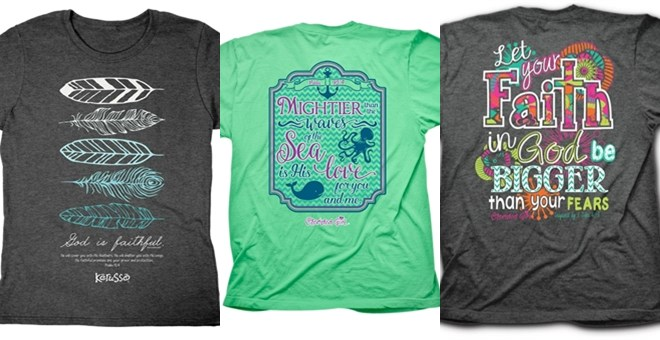 Adult Christian T-Shirts | 18 New Designs | S-3XL