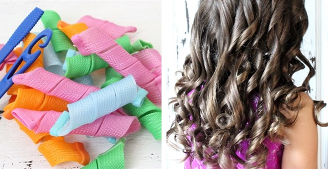 Magic Hair Curlers |18 Curlers | 2 Hooks