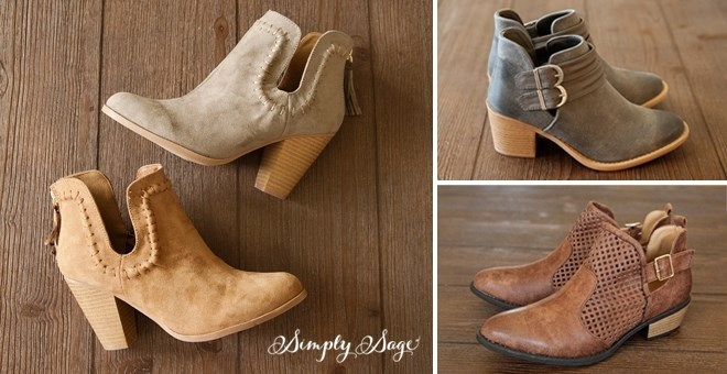 Booties / 7 Styles to Choose From!