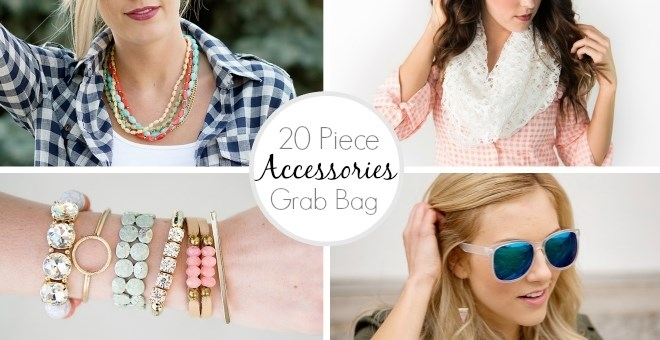 20 Piece Accessories Grab Bag