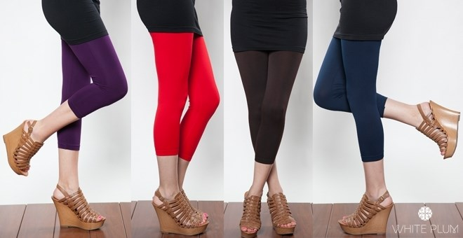 Colored Capri Leggings