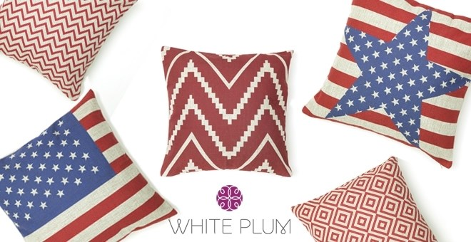 Patriotic Pillow Covers 11 Styles Jane