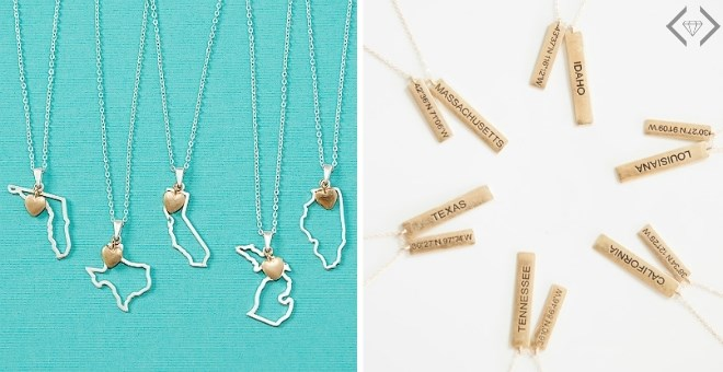 State Pride Necklaces | 2 Styles