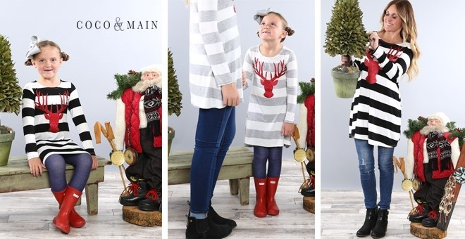Mommy + Me Holiday Tunics | S-XL