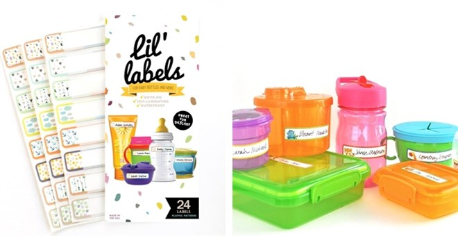 Reusable Labels | Daycare and Back to School